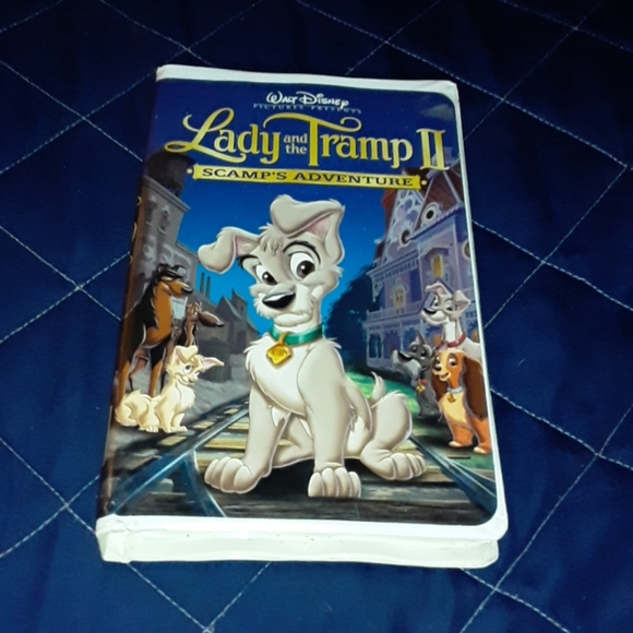 Lady and the tramp 2 VHS tape